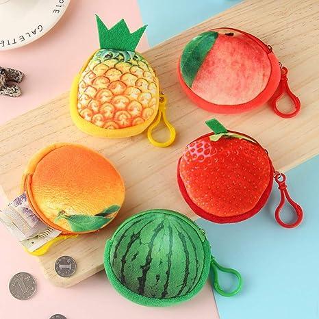KEKEDA - Monedero Creativo de simulación de Frutas, Monedero ...