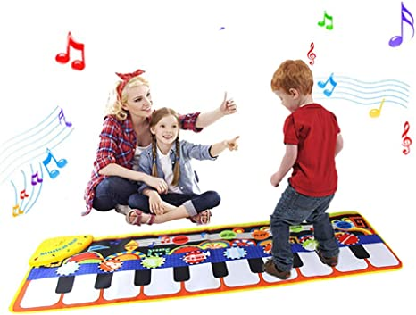 Educational Toys For 1-6 Year Old Girls Boys Kids Piano Music Dance Mat