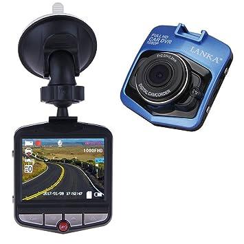 LANKA® Cámara de Coche HD 080P con Sensor de Movimiento y visión Nocturna