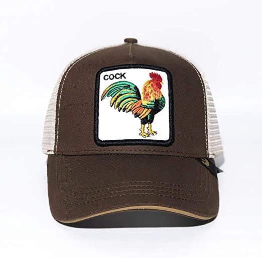 sdssup Gorra Beisbol Animal Lobo Caqui Sombrero Bordado Gallo Cafe ...
