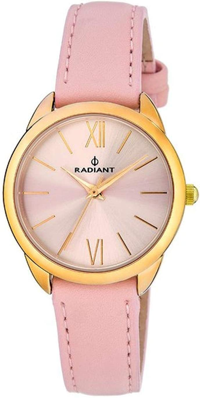 RADIANT Reloj Analógico para Mujer de Cuarzo con Correa en Piel RA419602