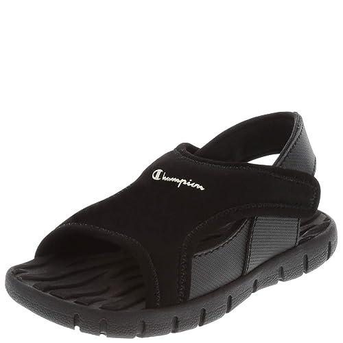 060e49edb63f2 Champion Boys  Black Boys  Toddler Splash Sandal 5.5 Regular  Amazon ...