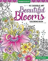 KC Doodle Beautiful Blooms Coloring Collection (Kc Doodle Art)