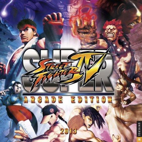 Street Fighter 2013 Wall Calendar (Street Fighter Calendar)