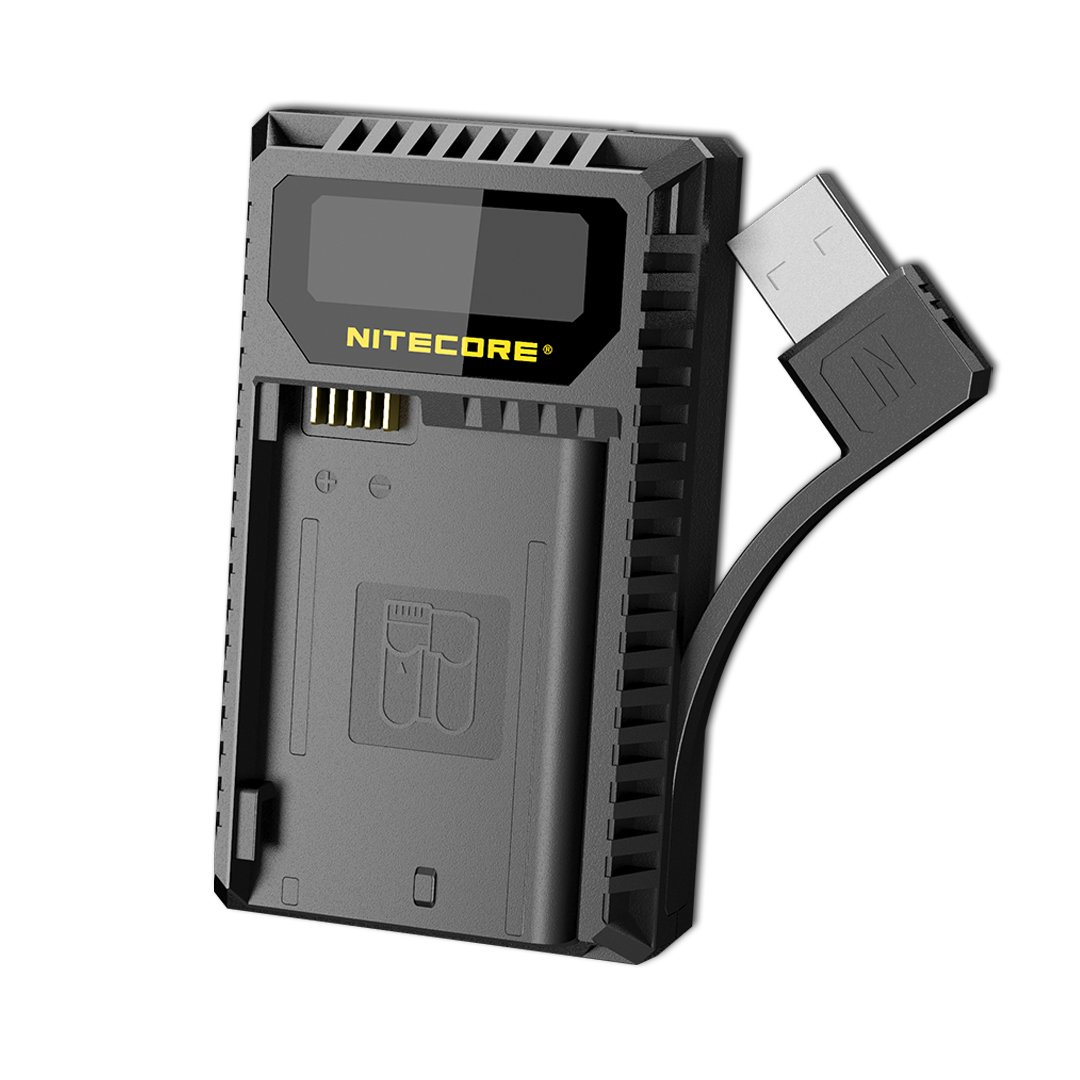NITECORE UNK2 Dual Port USB Digital Camera Battery Charger Nikon Batteries EN-EL15