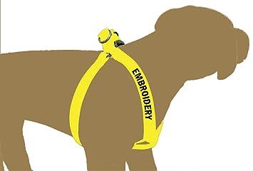 Northern Safari - Arnés Bordado para Perro de 1 Pulgada con 1 Logo ...