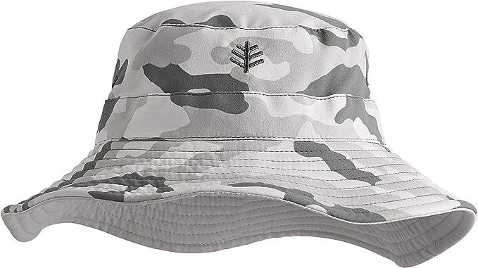 Kids Landon Reversible Bucket Hat Coolibar UPF 50 Sun Protective