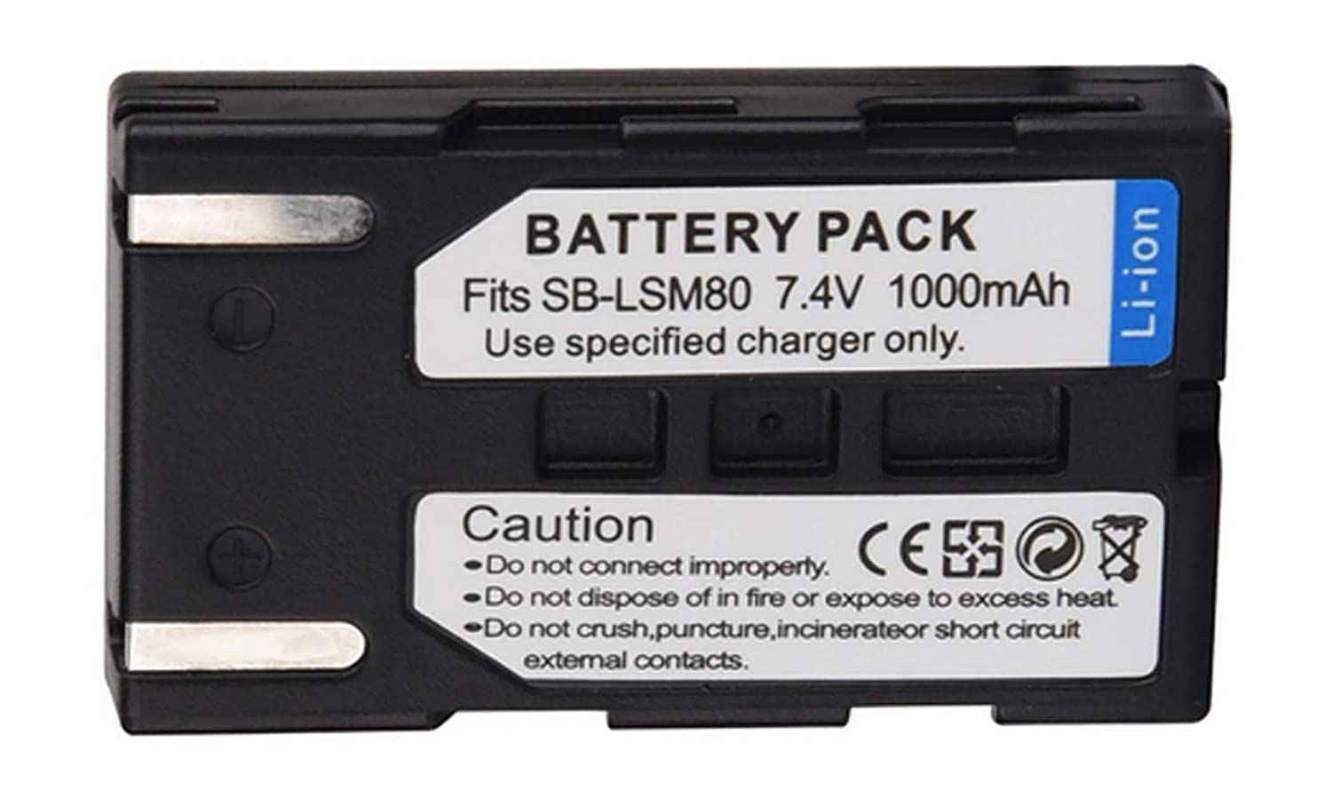 VP-D455i Digital Camcorder VP-D454 Battery Charger for Samsung VP-D451 VP-D455 VP-D453