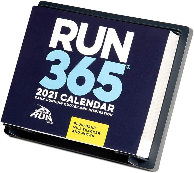 Amazon.: 2021 Runner's Daily Desk Calendar by Gone for a Run