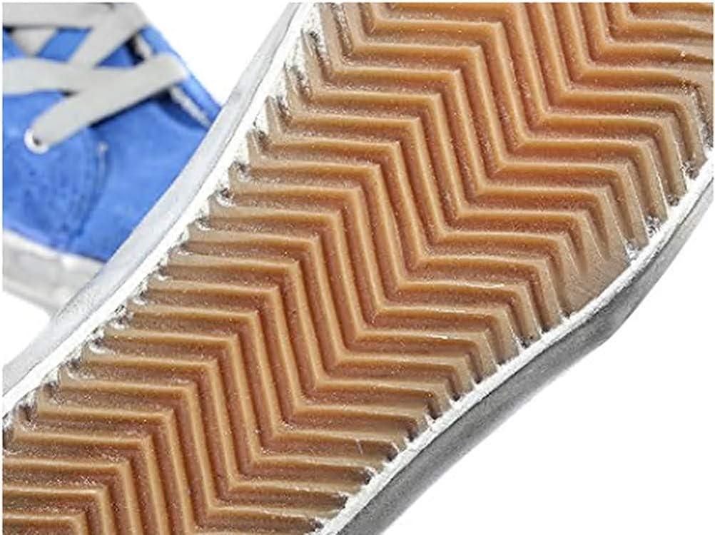 Golden Goose - Zapatillas De Piel Para Mujer, Estilo Casual, Francy Ggdb Azul