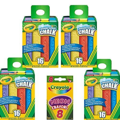 Crayola 64 Count Sidewalk Chalk