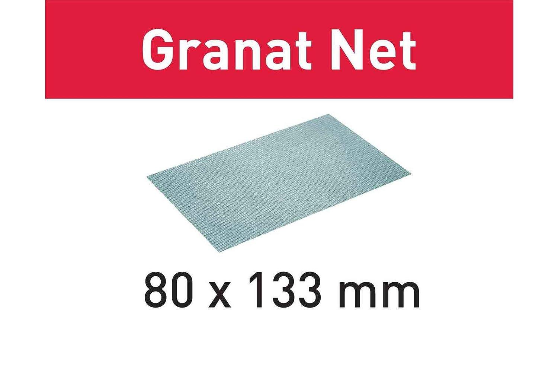 Festool 203285 –  STF 80 x 133 P100 gr abrasive net, grigio acciaio, set da 50 pezzi set da 50pezzi