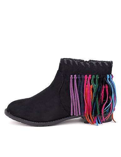 Cendriyon Femme: Bottine Daim Noir Azalee Mode Chaussures Femme: Cendriyon a6f9a2