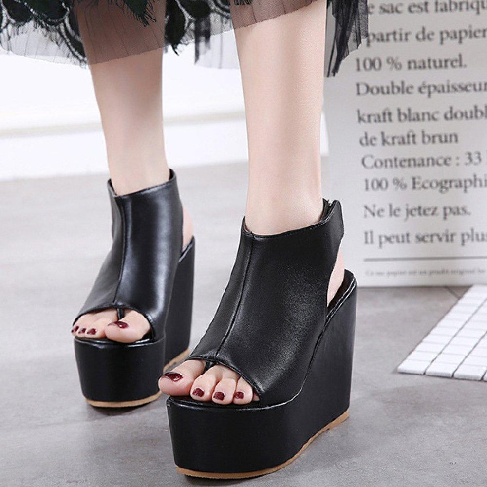 High Heels Extreme Platform Platform Platform Sexy Blockabsatz Sandalen Für Frauen Kleid Party Schuhe Damen Elegante Peep Toe Pumps 03d64d