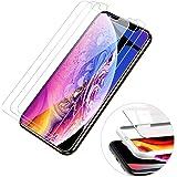 【3枚セット】BRG コンパチブル iphone XS Max ガラスフィルム 液晶保護 自動吸着【ガイド枠付き】日本製素材旭硝子製 業界最高硬度 コンパチブル iphoneXS Max フィルム アイフォンXS Max 強化ガラスフィルム 高透過率 3Dタッチ対応(iphone XS Max,6.5インチ)
