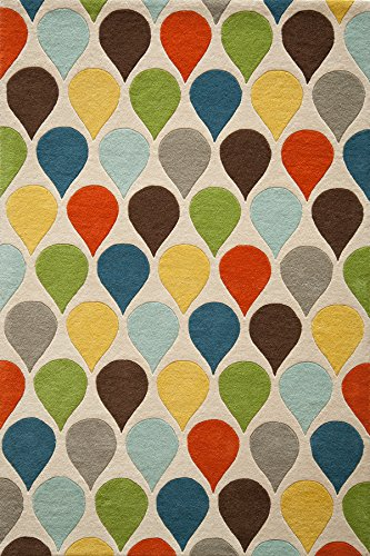 Nolita Rugs James Hand Tufted Wool Multi Area Rug 5' X 8'