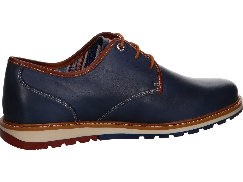 Pikolinos M8J-4195, Chaussures de Ville à Lacets Pour Homme - Bleu - Bleu, 44 EU