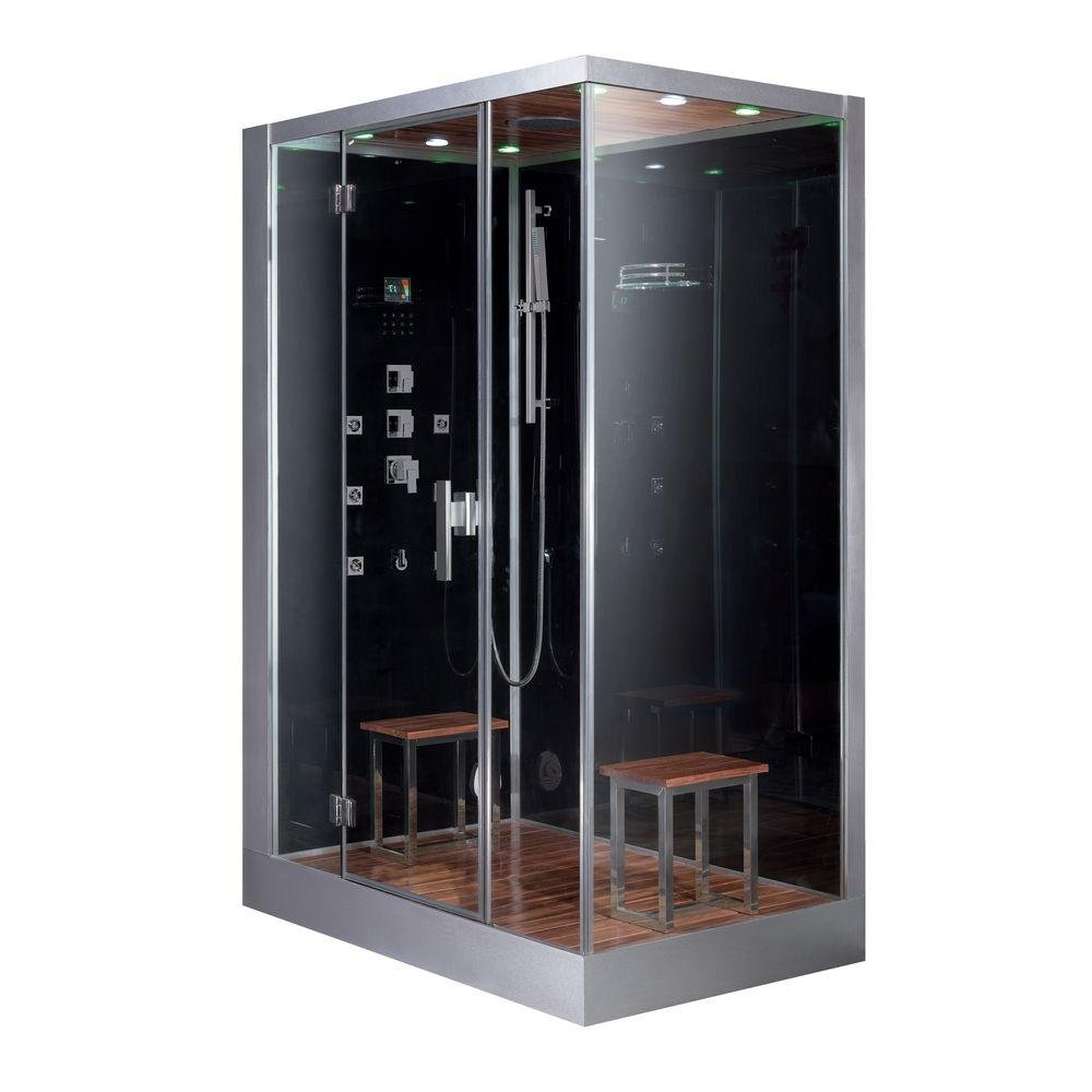Ariel Platinum DZ961F8 L Steam Shower 59x35.4x89.2