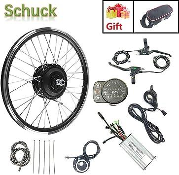 Schuck Kit de conversión de Bicicleta eléctrica con 20 Pantalla ...