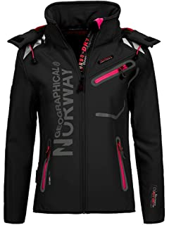 Desholle Softshell Norway Geographical N613 Outdoor Damen 2I9EDH