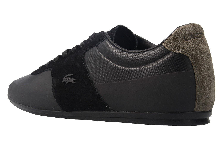 Lacoste - Herren Sneaker - Schuhe Turnier 117 - Schwarz Schuhe - in Übergrößen - 11838b