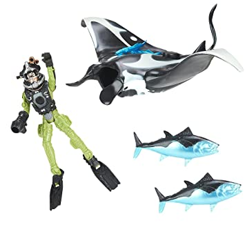 Animal Planet Deep Sea Discovery Manta Ray Playset