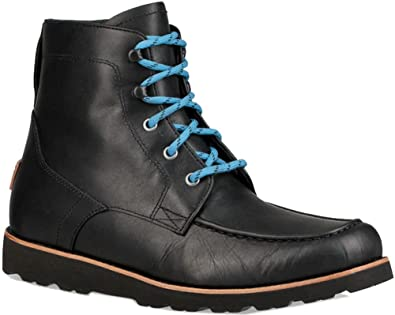 c571f995f62 UGG Mens Agnar Rain Boot, Black, Size 14: Amazon.co.uk: Shoes & Bags