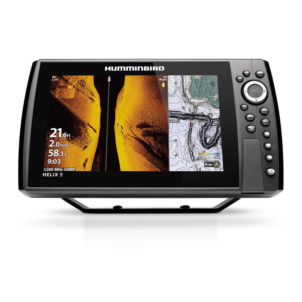 【HUMMINBIRD/ハミンバード】HELIX 9 CHIRP MEGA SI+ GPS G3N 淡水マップ付き GPS魚探 魚群探知機 航海計器