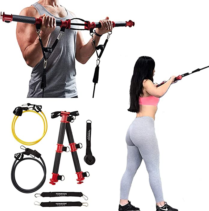 The Best Tension Toner  Patented Home Gym