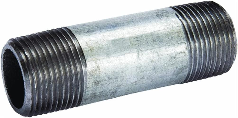 1//2 x 2 Galvanized Pipe Nipple
