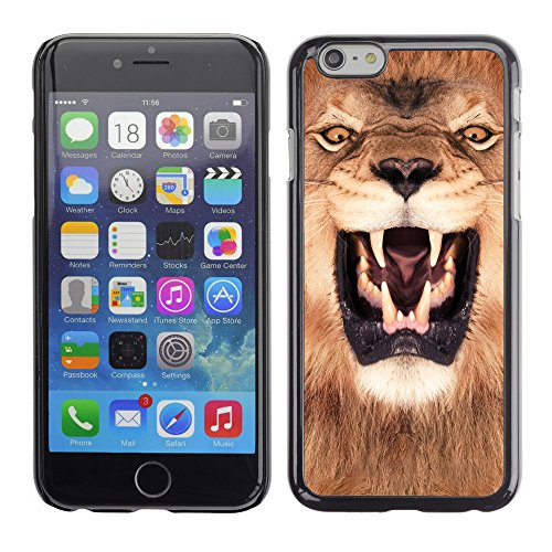 Premio Sottile Slim Cassa Custodia Case Cover Shell // V00002127 roi Lion // Apple iPhone 6 6S 6G 4.7""