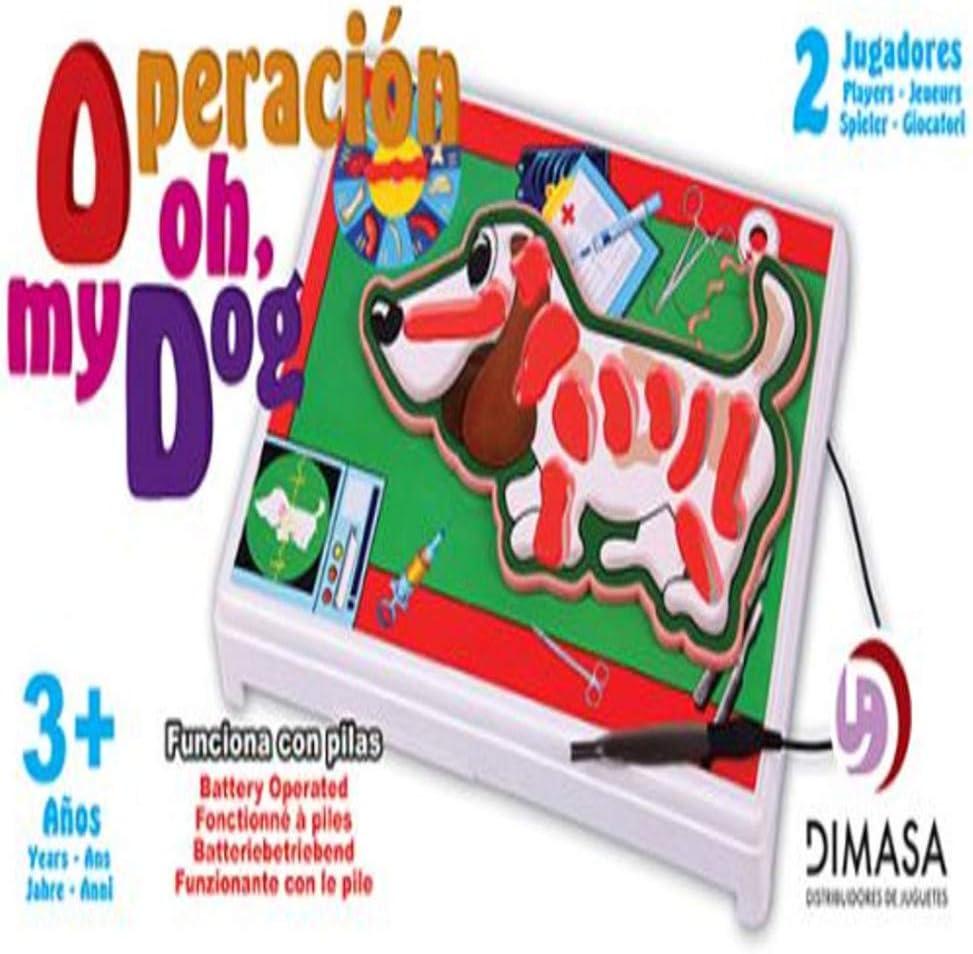 jupesa Juego operación Perro: Amazon.es: Juguetes y juegos