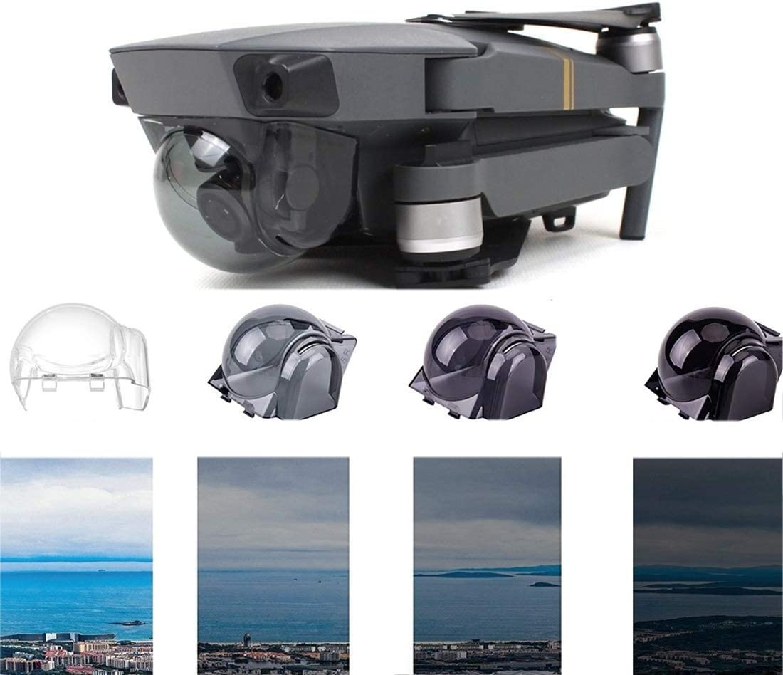 JINGZ ND4 Lens Filter Gimbal PTZ Protective Case Camera Lens Cover for DJI Mavic Pro Durable