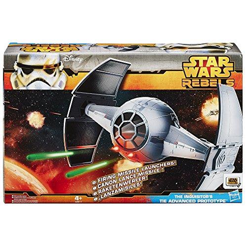 (Hasbro Star Wars Rebels Class II Attack Vehicle The Inquisitors Tie Advanced Prototype)