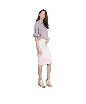 Her Velvet Vase Womens Sequoia Sequin Pencil Midi Skirt At Amazon