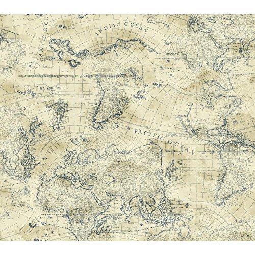 York Wallcoverings NY4837 Nautical Wallpaper