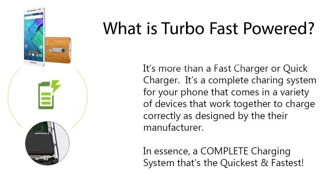 Amazon.com: Turbo Fast Powered 15W Saygus V2 Car Charger with Detachable Hi-Power USB Type-C Cable!: Cell Phones & Accessories