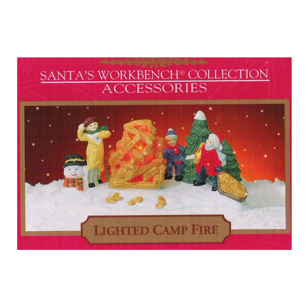 amazon com santas workbench collection accessories lighted camp