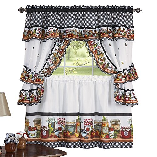 Mason Kitchen Pocket Window Curtain
