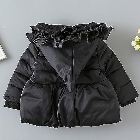 Kids Coat, Ouneed Winter Hooded Coat Cloak Jacket Thick Clothes:  Amazon.co.uk: Clothing