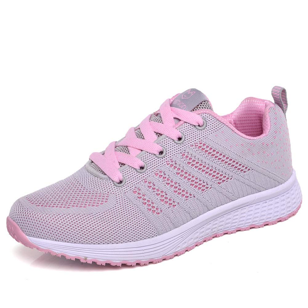 2018 Autumn The Flying Woven Sports Shoes Breathable Mesh He-yanjing Womens Sneakers