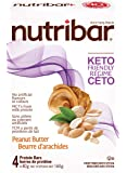 Nutribar Original Nutribar Keto Bars, Peanut Butter, 4 Bars, 160 G 4 count