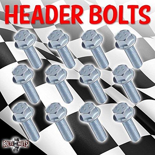 12 PACK LS1 HEADER BOLTS GRADE 10.9 LSX LS2 LS3 LS6 LS7 GM VORTEC 4.8 5.3 6.0 - Lsx Firebird