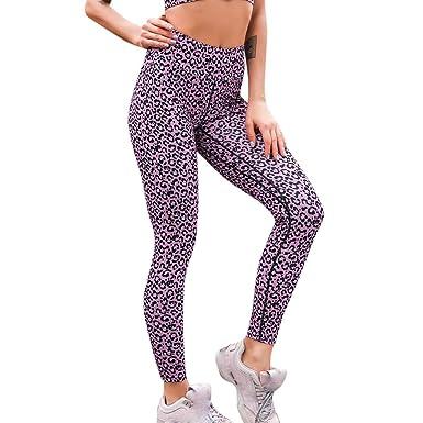 1db83fe0f5aa5 AOJIAN Yoga Pants Buttery Soft Tummy Control Leopard Trousers Jogger Capri  Workout Running Sports Leggings for