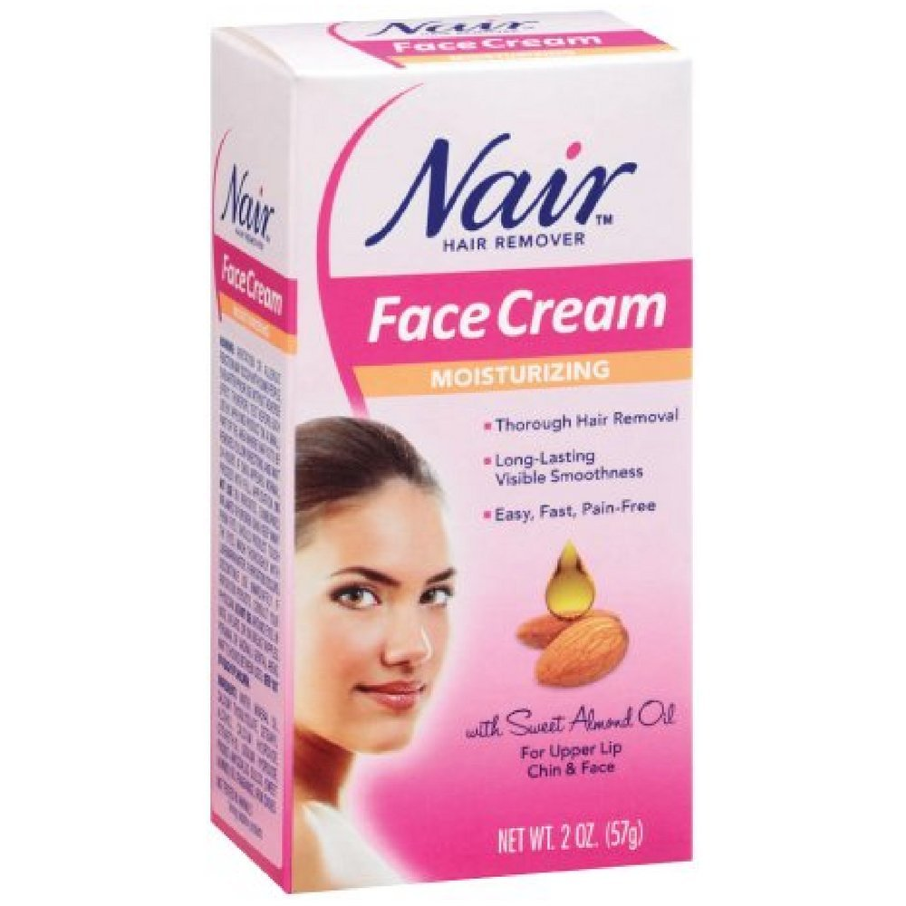 Nair Moisturizing Face Cream Hair Remover 2 oz (Pack of 12) by Nair