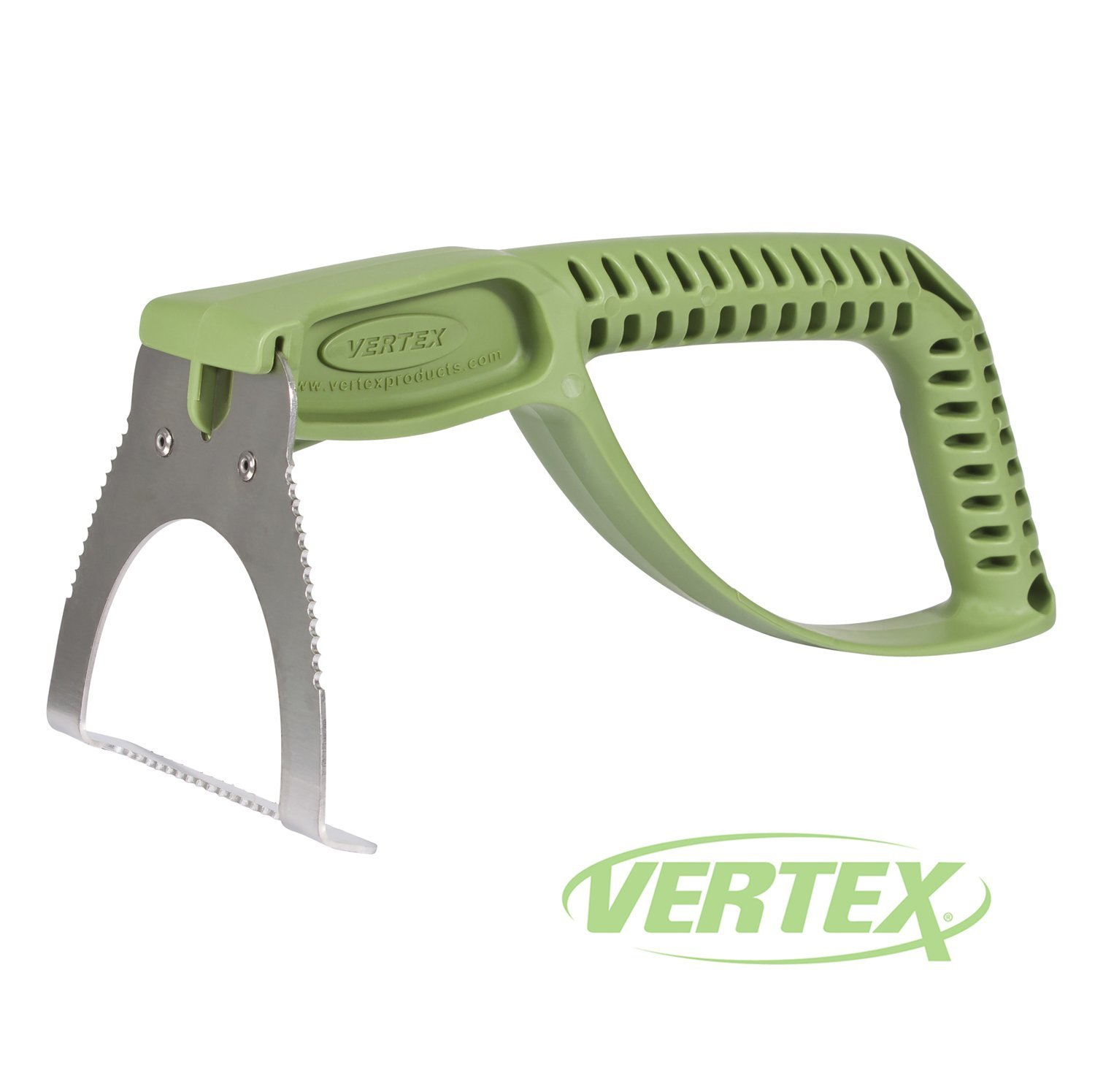 NaturalGripx2122; Egonomic Weeder Garden Tool by Vertex174; with Stainless Steel Head and Comfort Grip Handle - Made in USA - Model P1409