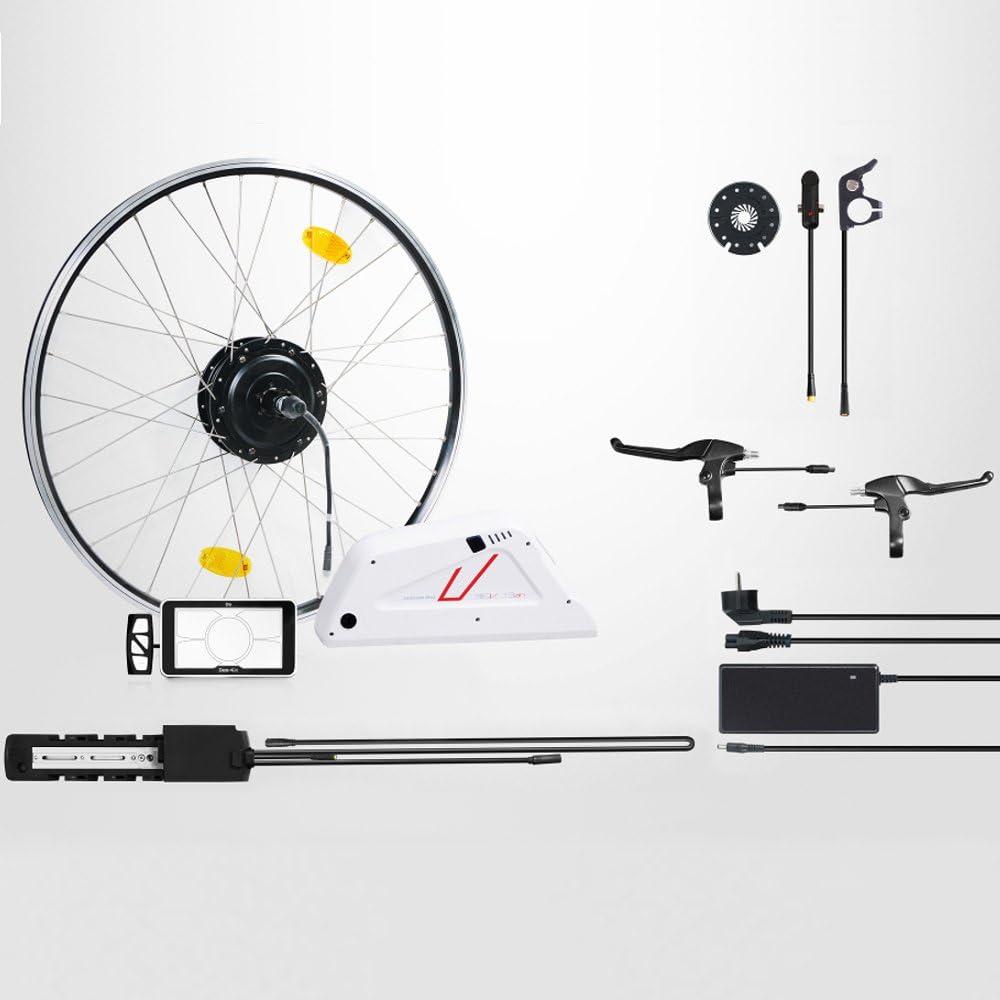 E-Bike, Pedelec, completamente conversion Kit bicicleta eléctrica ...