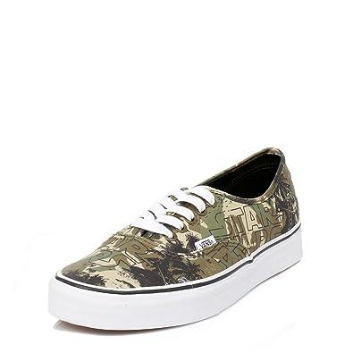 78ad583fced397 Vans Mens Star Wars Khaki Authentic Boba Fett Trainers  Amazon.co.uk  Shoes    Bags