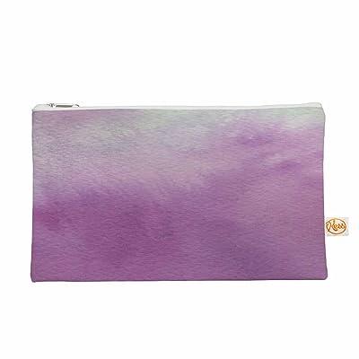 "KESS InHouse Li Zamperini ""Ombre"" Green Purple Everything Bag, 12.5"" x 8.5"" (LZ1019AEP02)"
