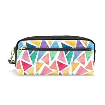 BONIPE - Estuche para lápices de geometría triangular, bolsa ...
